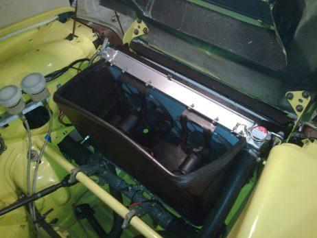 montage radiateur aluminium renault 5 turbo