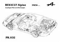 ALpine GTA V6 Pièce rechange