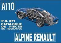 Alpine A110 pièce rechange