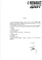 Alpine A310 Gr4 Notice
