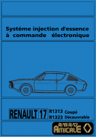 R17 Gordini injection electronique