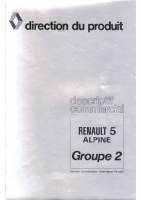 R5 Alpine Gr2 Descriptif commercial