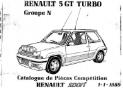 R5 GT Turbo GrN pièce