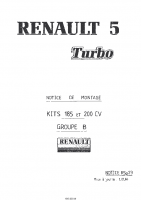 R5 Turbo Kit 185-200cv
