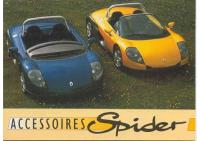 Renault Spider Accessoires