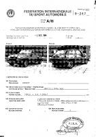 R5 turbo Maxi PTH homologation
